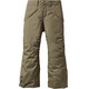 Patagonia Boys Insulated Snowshot Pants Fatigue Green